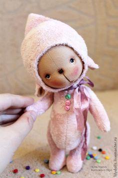 Toy animals, handmade.  Fair Masters - handmade pink cloud).  Handmade.