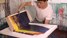 Toronto-based artist Callen Schaub invites us into his studio to see how he uses swinging troughs, paint can pendulums, and bicycle parts to create his signa...