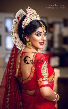 Bengali Bridal Makeup, Bengali Wedding, Bengali Bride, Wedding Bride, Wedding Events, Beautiful Girl Image, Beautiful Bride, Girl Senior Pictures, Wedding Photography Poses