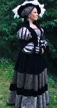 Selbst genähtes Cranach-Kleid