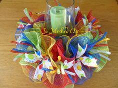 This is a fun way to decorate your table for birthday celebrations all throughout the year! This could also be a great gift for a teacher for the