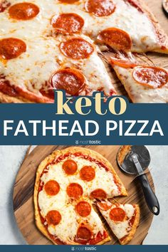 Fathead Pizza recipe is so easy to make even your kids can do it! You can make your own low carb pizza crust recipe, very quick and simple recipe. gluten free. www.noshtastic.com
