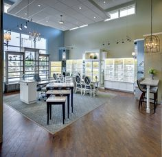 Bussey Eyecare Clinic | Optical Office Design | Barbara Wright Design