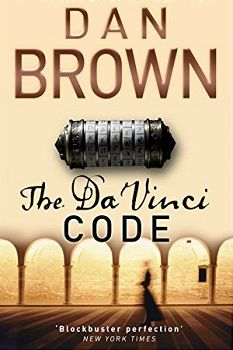 "Feb 2016: The Da Vinci Code by Dan Brown ""These books can't possibly compete with centuries of established history, especially when that history is endorsed by the ultimate bestseller of all time.""  Faukman's eyes went wide. ""Don't tell me Harry Potter is actually about the Holy Grail."" ""I was referring to the Bible."" Faukman cringed. ""I knew that."""