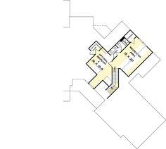 Split Bed Craftsman with Angled Garage - 36055DK | Architectural Designs - House Plans Craftsman Style House Plans, Ranch House Plans, New House Plans, Dream House Plans, House Floor Plans, Mountain House Plans, Farmhouse Plans, Modern Farmhouse, Story House