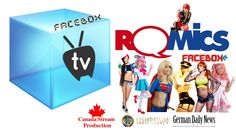 FaceBox TV A COSPLAY DAY at ROMICS 2017