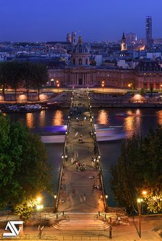 Pont des Arts, Paris 1e