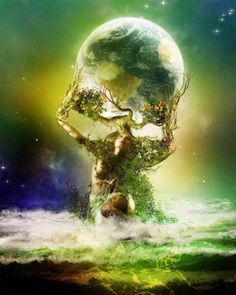 Gaia, goddess of our earth.