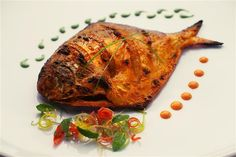 roast fish