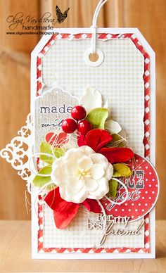 Scrap story ...: Bright tag for Studio75