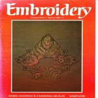 Vintage 1983 Embroidery magazine from The Embroiderers Guild available at Vintage Visage