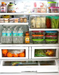 Why is it that keeping the refrigerator organized is such a battle? For some reason everything seems to get pushed around and out of order. Then you end up with one lonely tomato or zucchini or cucumber that gets shoved to the back to rot and make a mess, which leads to spending your whole Saturday morning scrubbing the shelves. You can take steps to avoid the rotten produce disaster scenario, but we can't guarantee it will be foolproof — especially if there are other people in your…