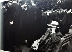 "© Robert Frank, ""The Americans"". Yale Commencement. New Haven Green, New Haven, Connecticut, 1956"