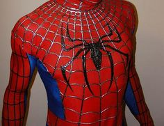 Spiderman costume for kids great as party dress, cosplay events, etc * Brand New * Material: Thin fabric (a little bit stretchable) * Pants: approx * Top: approx * Chest: approx * Sleeve: approx Family Halloween Costumes, Diy Costumes, Adult Costumes, Cosplay Costumes, Diy Halloween, Costume Ideas, Halloween Decorations, Diy Superhero Costume, Spiderman Costume