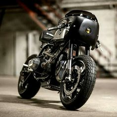 Black mate Cafe racer