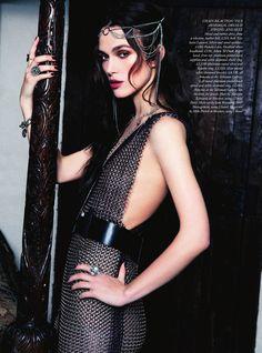 Keira Knightley for Harper's Bazaar UK |