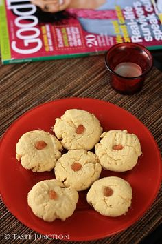 Nankhatai - Indian shortbread - fPerfect for tea time