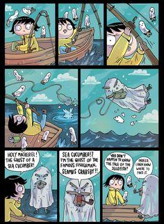 'GHOSTFISH,' Today's Comic by Ida Eva Neverdahl