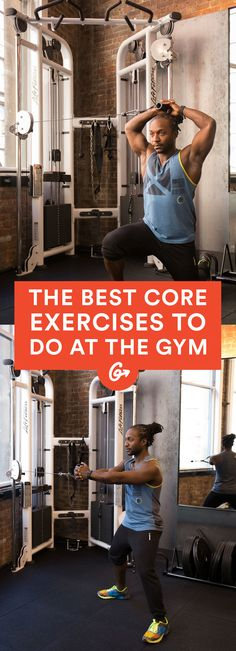 These 17 genius ways to use gym equipment will help you build a stronger midsection. #abs #workout #exercises http://greatist.com/move/abs-workout-most-effective-core-moves-to-do-at-the-gym