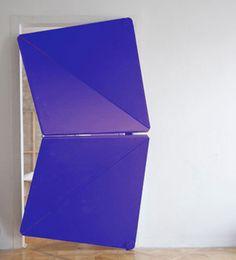 Ces portes �tonnantes se plient sur elles-m�mes tels des origamis