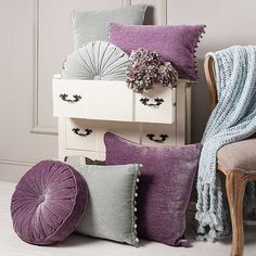 Gallery Home Square Shimmer Cushion