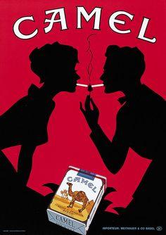 phasesphrasesphotos:  Camel Cigarettes 1952