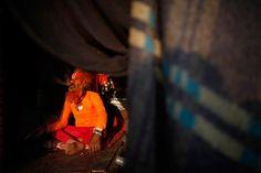 Holy man in Katmandu, Nepal via @cntraveller
