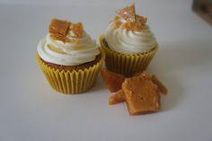 Manuka Honey Cupcakes with Homemade Honeycomb