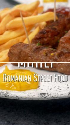 Kebab Recipes, Grilling Recipes, Pork Recipes, Appetizer Recipes, Appetizers, Cooking Recipes, Romanian Recipes, Romanian Food, Great Recipes
