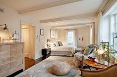 Lovely neutral (no grey!) bedroom | David Howell Design