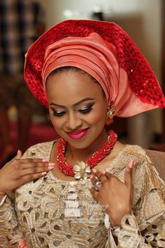 5 Nigerian Traditional Wedding Colors On Trend 2014