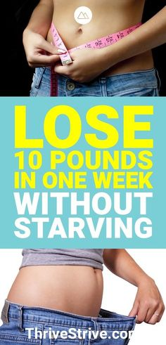 Is it possible to lose 10lb in one week? Yes. Is it easy? No. Here is a plan that will help you lose up to 10lbs in one week if you really want to give it a shot.