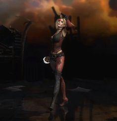 Harley Quinn Injustice Alternate Costume | harley quinn injustice in her arkham city outfit | harley quinn.