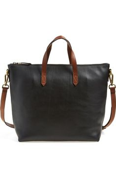 MADEWELL . #madewell #bags #leather #hand bags #satchel #