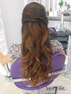 peinados semirecogidos son ideales para todas las chicas, dan un toque de…