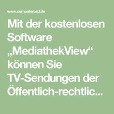 """Mit der kostenlosen Software """"MediathekView"""" können Sie TV-Sendungen der Öffentlich-rechtlichen anschauen und auf Ihrem PC speichern. Eine komfortable Suchfunktion für die Online-Mediatheken von ARD, ZDF, Arte, 3sat, NDR, WDR, MDR, HR, SWR, RBB, BR, SR, Phoenix, KiKA, DW, ORF und SRF hilft Ihnen dabei. So machen Sie etwa die gewünschten Filme und Serien ausfindig oder filtern gezielt nach HD-Formaten. Sendungen, die Sie regelmäßig gucken, lassen sich als Download abonnieren und bei…"""