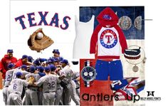 """""""It's Baseball Time In Texas!"""" by amy-brown-1 on Polyvore"""