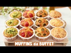 Appetizers quick and easy Brownie Muffin Recipe, Muffin Recipes, Cake Recipes, Savory Muffins, Quick Appetizers, Antipasto, Italian Recipes, Food And Drink, Cooking Recipes