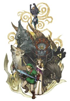 Twilight Princess - Link - Legend of Zelda