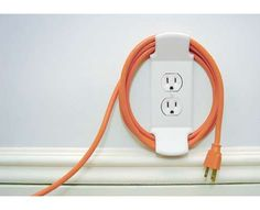61 Clever Cord Organizers - From Grain Storage Gadget Docks to Cutlery Cable Clips (CLUSTER) #41- cord labels