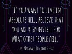 inspirational quotes | Marshall Rosenberg | non-violent communication | MindBodyPlate.com