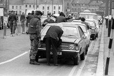 Army Checkpoint Craigavon Bridge, Derry