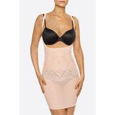 Nancy Ganz | New Enchanté Slip Dress - Nude / M | Shapewear & Mieder