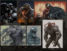 ArtStation - Venom, Edward Delandre
