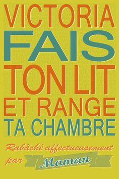 Poster vintage personnalisé