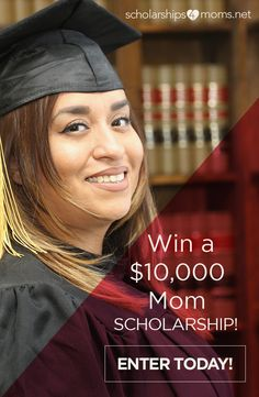 is an easy-to-apply scholarship drawing for mothers like you. No essay or GPA required to enter. Grants For College, Financial Aid For College, Nursing Scholarships, College Information, Action Research, Biology Teacher, Freshman Year, Helping The Homeless, Career Education