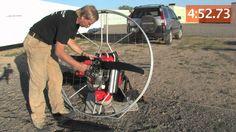 Nirvana Paramotor Assembly, Paradrenalin Powered Paragliding