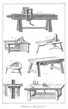 click to enlarge image. Adjustable woodworking visas Diderot d alembert