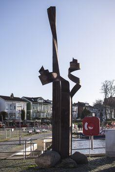 #Neustadt/Holstein Verformte Spundbohle in Neustadt