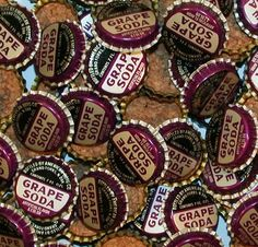 Grape Soda Bottle Caps